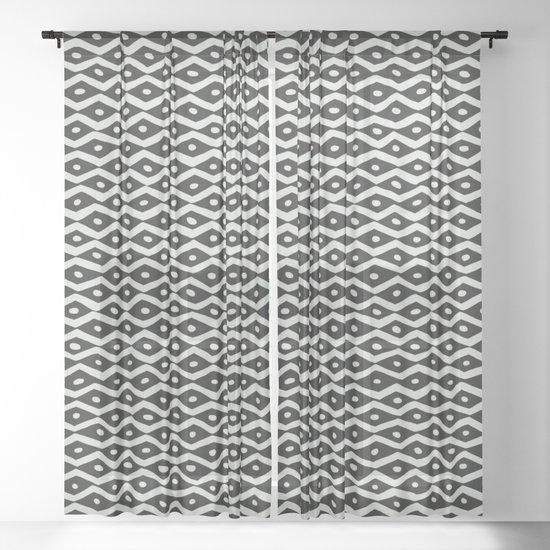 Black & White Tribal Pattern by alisagal