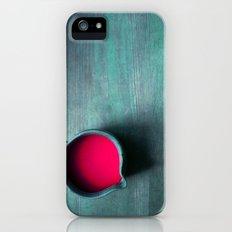 pink water iPhone (5, 5s) Slim Case