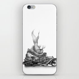 In which a goldfish spoils an outing iPhone Skin
