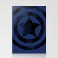 steve rogers Stationery Cards featuring Steve Rogers 008 by TheTreasure