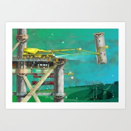 Loading Bay Art Print
