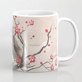 Cherry Blossom Raven Coffee Mug