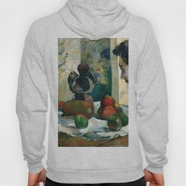 Still Life with Profile of Laval by Paul Gauguin Hoody