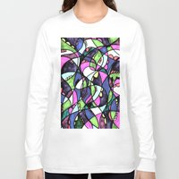 wonderland Long Sleeve T-shirts featuring WONDERLAND by JESSIE SUBLIME