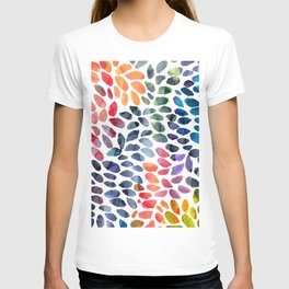 Colorful Painted Drops T-shirt