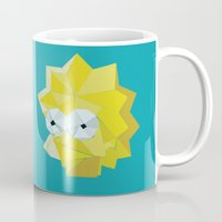 simpsons Mugs featuring SIMPSONS ROCKS by inkgraphics