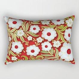 Art Flowers V3 Rectangular Pillow