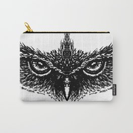 Focused (White) Carry-All Pouch