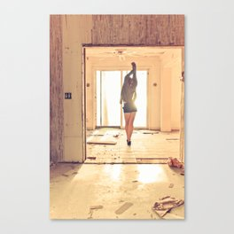 Reach Canvas Print