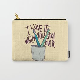 STAY OVER Carry-All Pouch