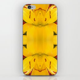 """""""A Gathering of Lilies"""" Remix - 4 (3-1) [D4469~57] iPhone Skin"""