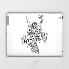 Warrior woman Laptop & iPad Skin