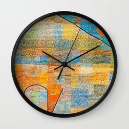 Paul Klee Ad Parnassum Wall Clock