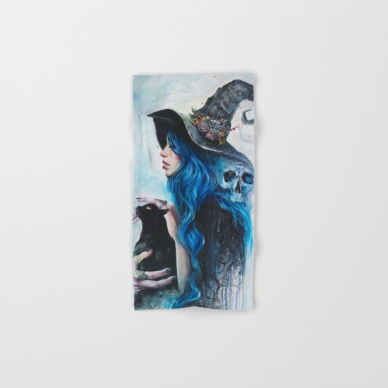 Blue Valentine Hand & Bath Towel