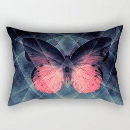 Beautiful Symmetry Butterfly Rectangular Pillow