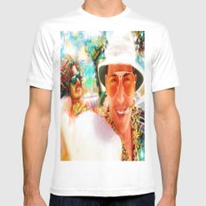 Fear and Loathing in Las Vegas Mens Fitted Tee White LARGE