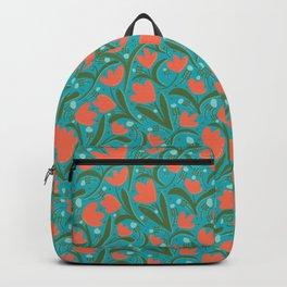 Tulips Orange Backpack