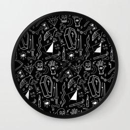 Dark Magic Wall Clock