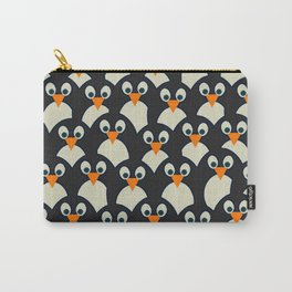 Penguin Pile-Up Carry-All Pouch