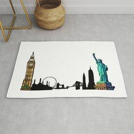 London & New York Rug