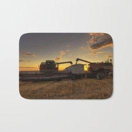 Golden Hour Grain Bath Mat