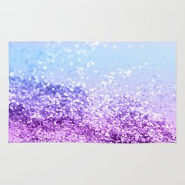 Unicorn Girls Glitter #14 #shiny #decor #art #society6 Rug