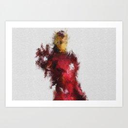 Made of Iron Art Print