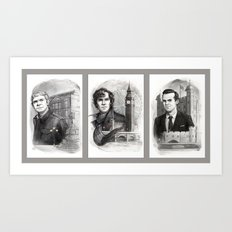 Sherlocked Trio Art Print