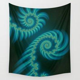 Entering the Vortex - Fractal Art Wall Tapestry