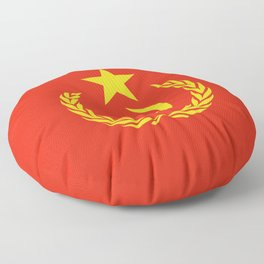 Russian Communist Flag Hammer & Sickle Floor Pillow