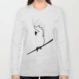 Cockatoo in line Long Sleeve T-shirt