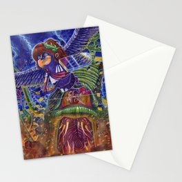 Kid Icarus Pit vs Medusa NES Nintendo Stationery Cards
