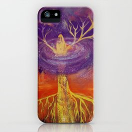 Being of Light iPhone Case