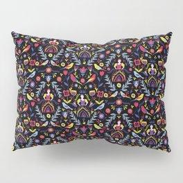 Dark Folk Milk Maid Pattern Pillow Sham