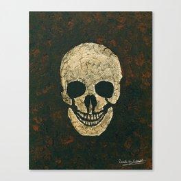 JT Skull Canvas Print