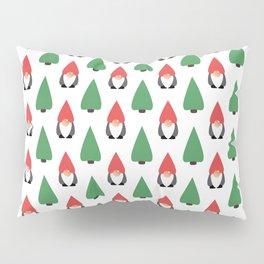 Christmas Gnomes & Trees Pillow Sham