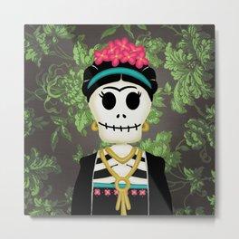 Frida K. Metal Print