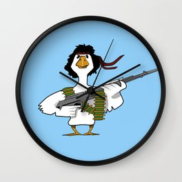 John Duck Rambo Wall Clock