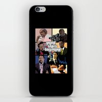 grand theft auto iPhone & iPod Skins featuring Grand Theft Baltimore - The Wire meets Grand Theft Auto by rydrew