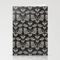 floral pattern Stationery Cards featuring Floral Pattern by Robin Curtiss