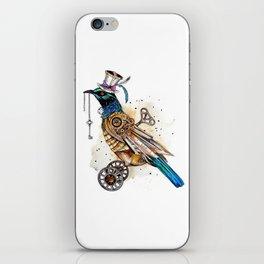 Steampunk Tui Bird  iPhone Skin