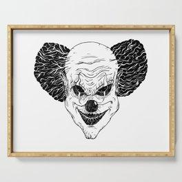 Evil clown Serving Tray