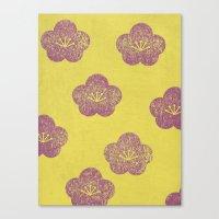 sakura Canvas Prints featuring Sakura by sinonelineman