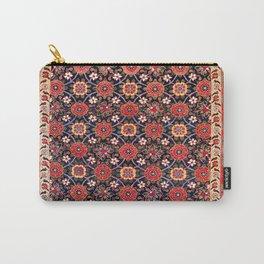 Songhor Kelleh Hamadan West Persian Rug Pring Carry-All Pouch