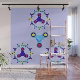 Fidget Spinner Design version 3 Wall Mural