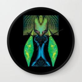 Alien Brother Wall Clock