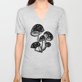 Magic mushrooms Unisex V-Neck