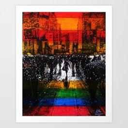 Beyoglu Art Print