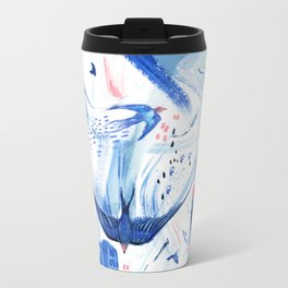 Pattern 28 Metal Travel Mug