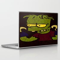 simpson Laptop & iPad Skins featuring Bart Simpson by Jide